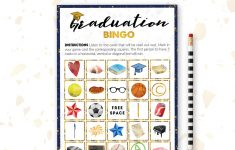 Graduation Bingo | Class Of 2019 Printable | Party Game