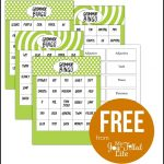 Grammar Bingo   Free Printable | English Grammar Games