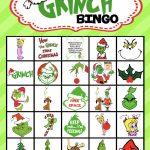 Grinch Bingo | Grinch, Bingo, Bingo Cards