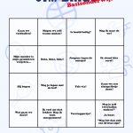 Gym Bingo: Wie Heeft Als Eerste Zijn Bingokaart Vol