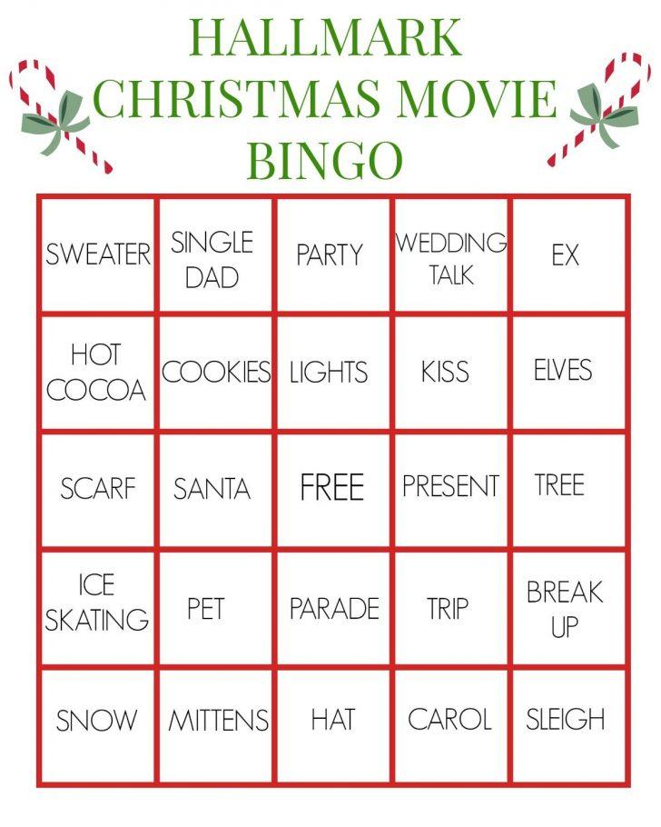 Free Printable Holiday Movie Bingo Cards