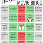 Hallmark Movie Bingo  Free Printables! | Christmas Movie
