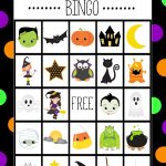Halloween Bingo   Cute Free Printable Game | Halloween Bingo