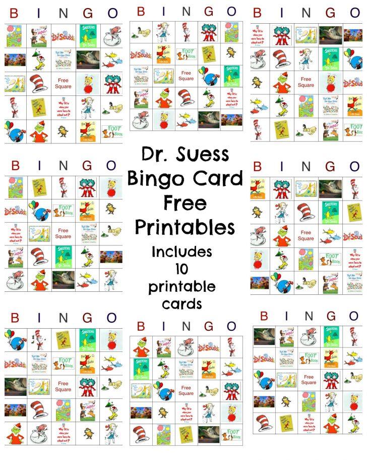 Free Printable Birthday Picture Bingo Cards
