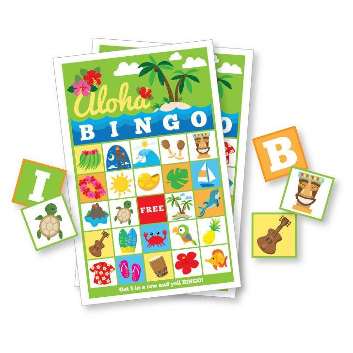Printable Hawaiian Bingo Cards