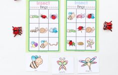 Insect Printable Bingo Game For Kids – Fun With Mama