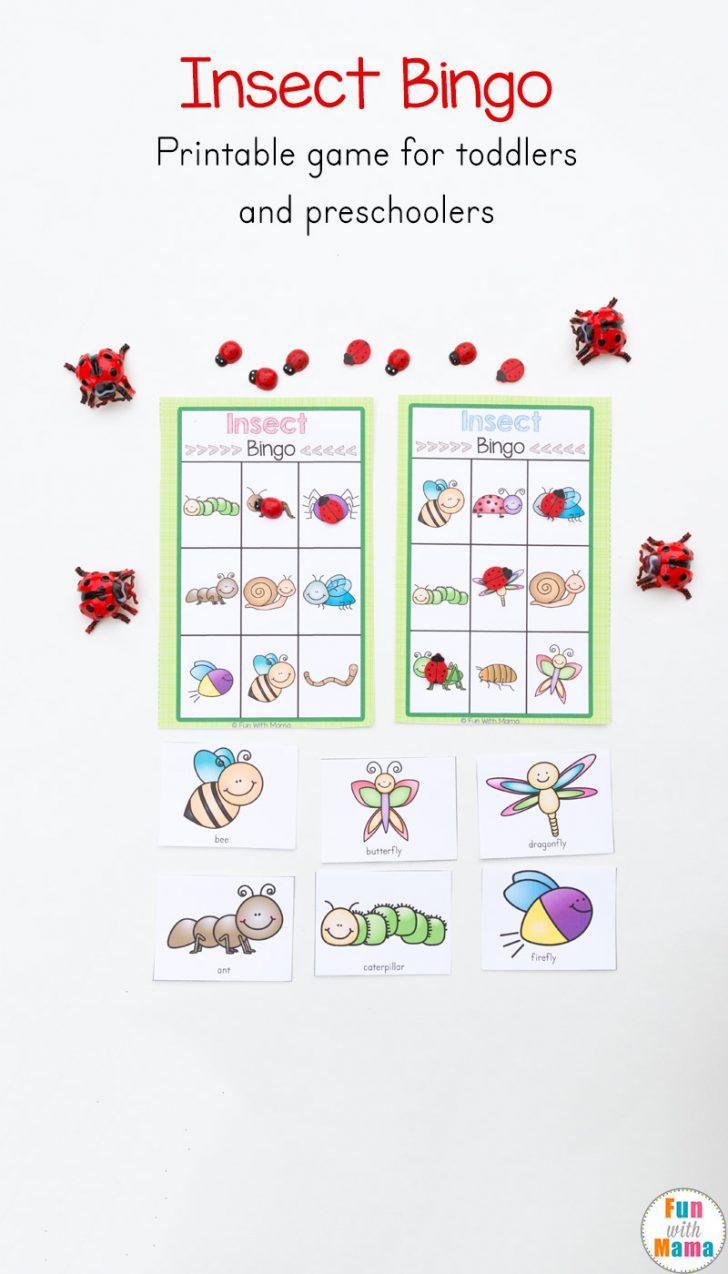 Printable Alphabet Ladybug Bingo Cards