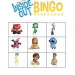 Inside Out Bingo Feelings   English Esl Worksheets For