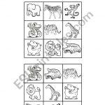 Jungle Animals Bingo Cards   Esl Worksheetedurne Tudela