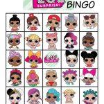 L.o.l. Dolls Bingo | Lol Doll Cake, Lol Dolls, Doll Party