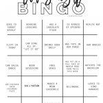 Ladies Night Out Bingo Icebreaker Printable | Girls Night