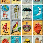 Loteria   Collage Sheet   Vintage Loteria Cards, Mexican