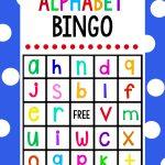 Lowercase Alphabet Bingo Game | Betűtanulás, Olvasás És Iskola