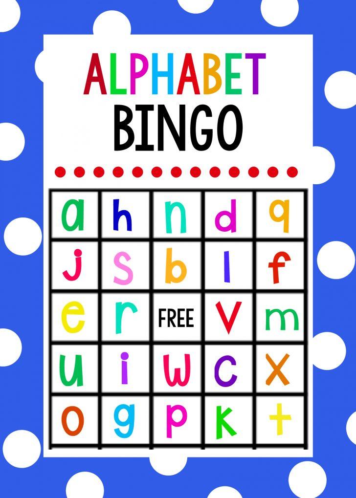Printable Letter A Bingo Card