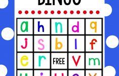 Lowercase Alphabet Bingo Game – Crazy Little Projects