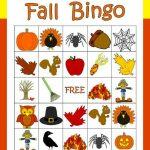 Make The Season Fun With Free Fall Bingo From Hiapta. Ten