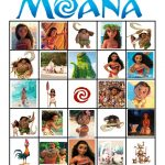 Moana Bingo | Moana, Moana Birthday Party, Moana Party