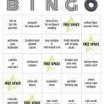 More On Maker's Bingo Cards — Amusing Yarns