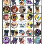 Musings Of An Average Mom: Free Printable Puppy Dog Pals Bingo