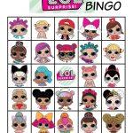 Musings Of An Average Mom: L.o.l. Dolls Bingo