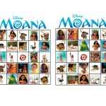 Musings Of An Average Mom: Moana Bingo