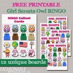 My Fashionable Designs: Free Printable Mini Owl Girl Scouts