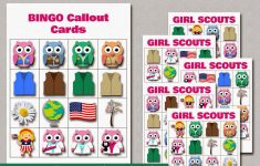 My Fashionable Designs: Free Printable Mini Owl Girl Scouts