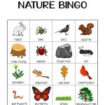 Nature Bingo Printable Activity   Take A Hike With Your Kids