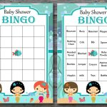 Nautical Baby Shower Bingo Cards, Sea Baby Shower Bingo
