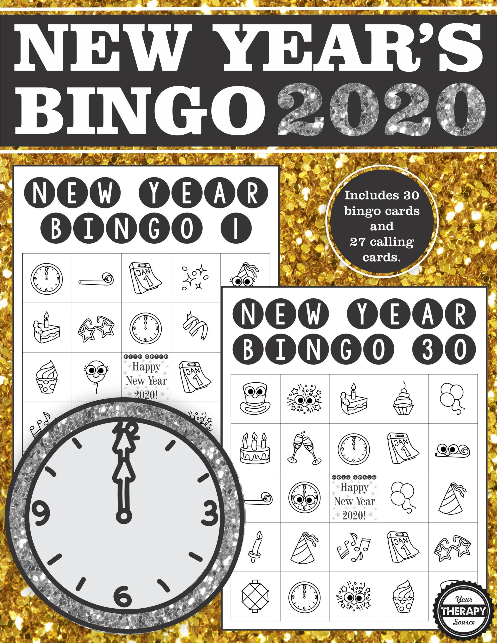 New Year's Bingo 2020