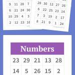 Numbers Bingo | Bingo, Voor Kinderen