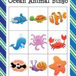 Ocean Animal Bingo   Gift Of Curiosity