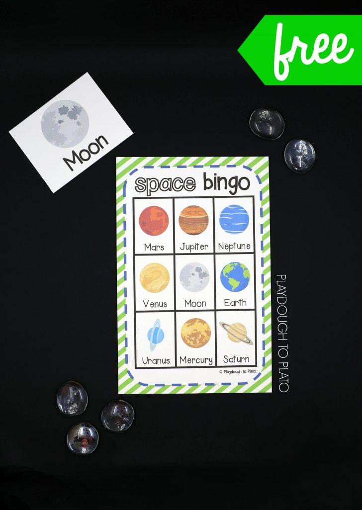 Printable Space Bingo Cards