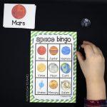 Outer Space Bingo   Playdough To Plato