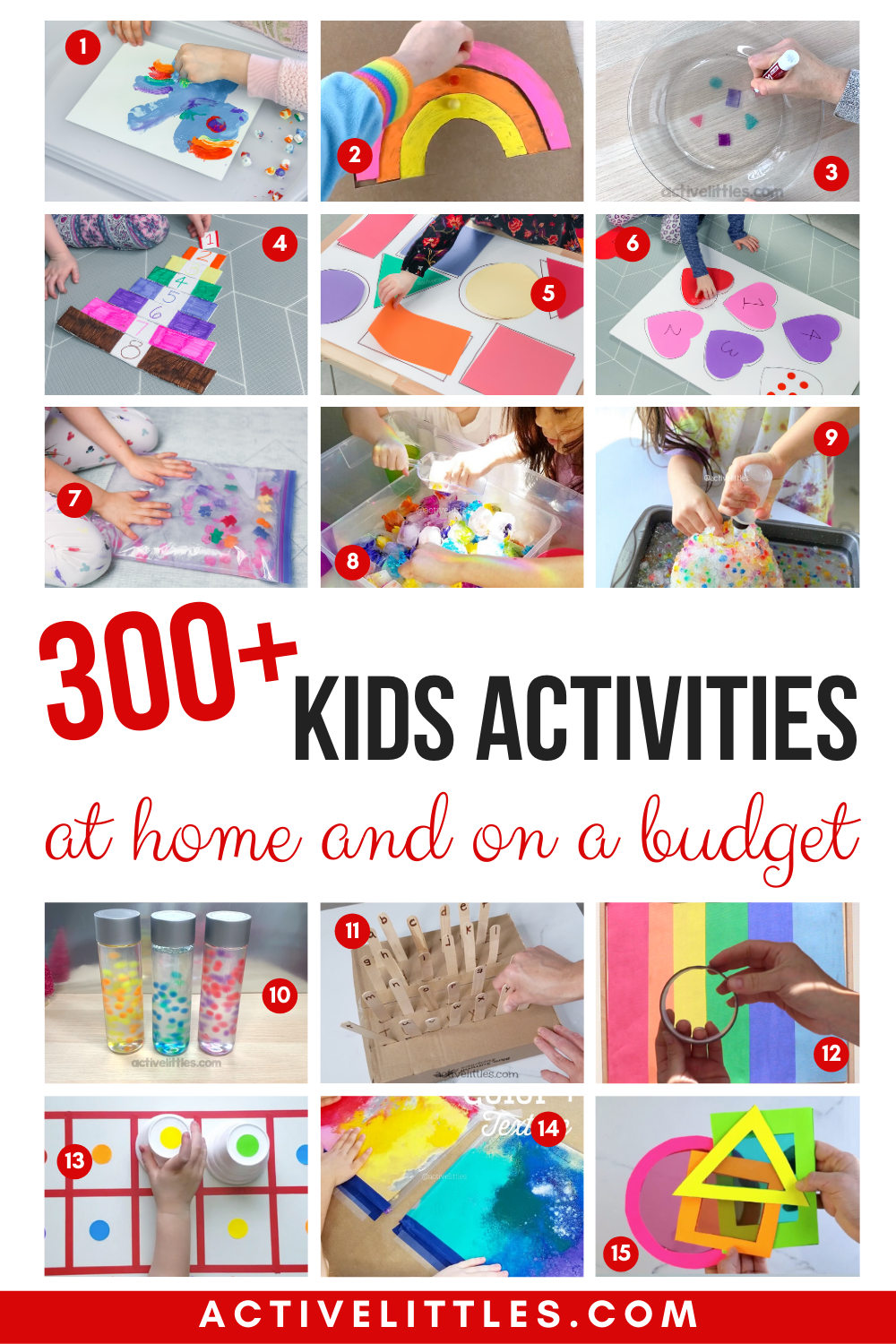 Over 300 Best At Home Kids Activities On A Budget - Tips And