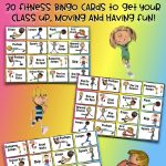 Physical Education Lesson   Fitness Bingo | Physical