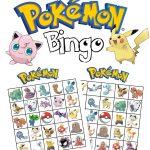 Pokemon Bingo   Feestjes, Feestje En Voor Kinderen