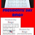 Presidents' Day Bingo   Tastefully Frugal