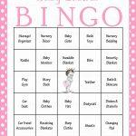 Princess Baby Bingo Cards   Printable Download   Prefilled