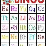 Printable Alphabet Bingo   Calendar June