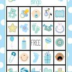 Printable Baby Shower Bingo Cards   Ideeën Voor Babyshowers