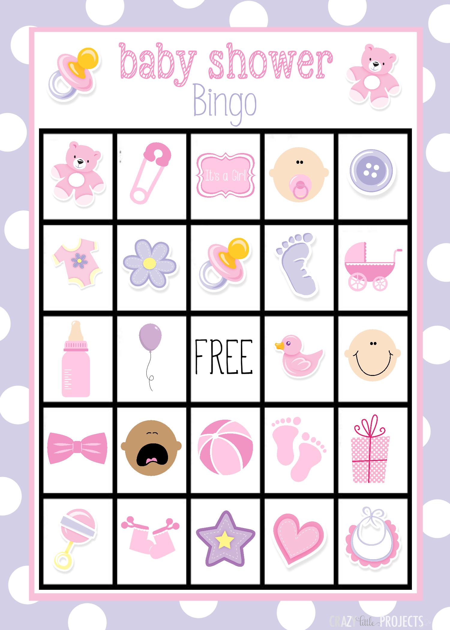 Printable Baby Shower Bingo Cards | Valentine Bingo