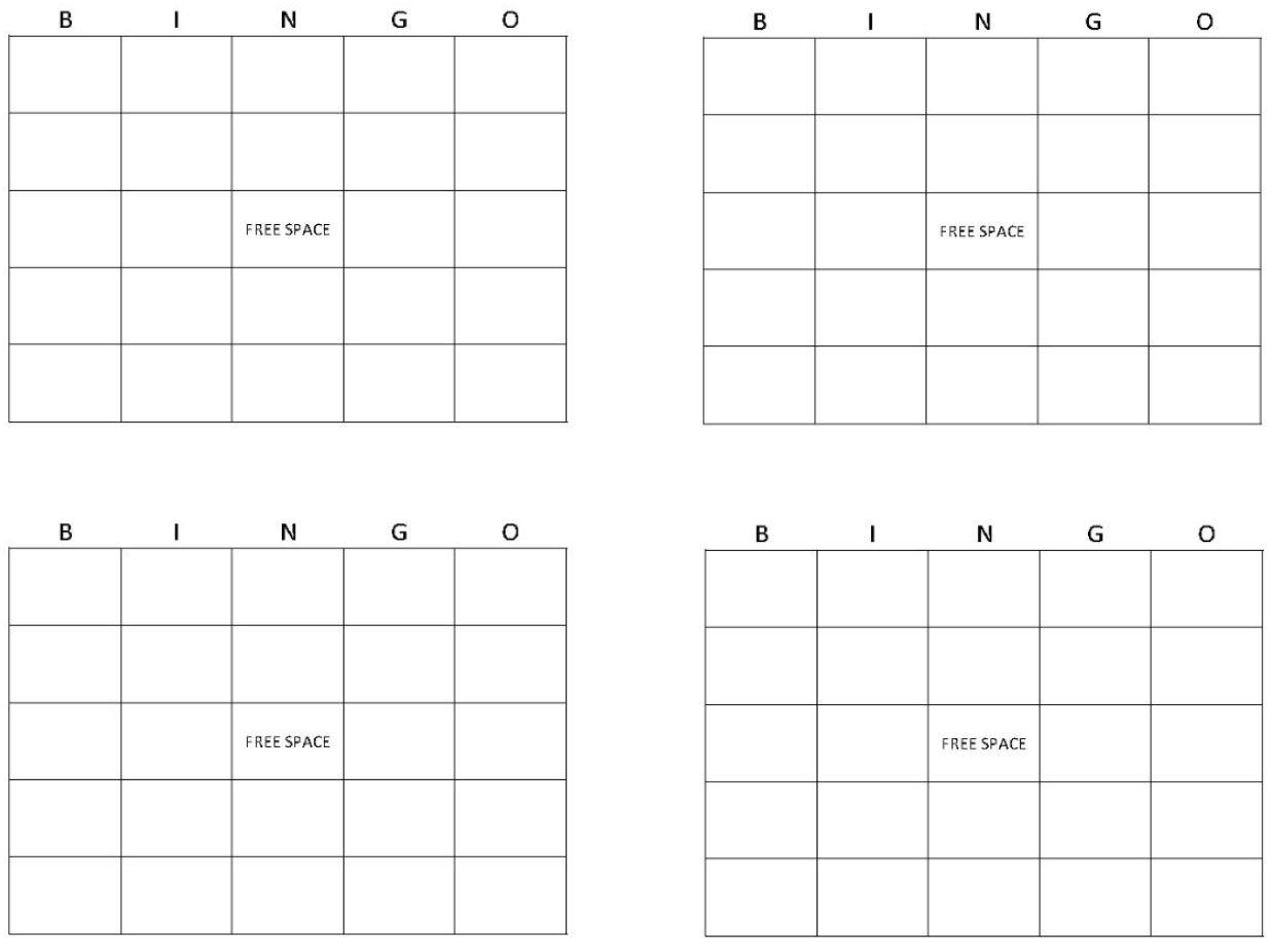 Printable Bingo Cards | Get Bingo Cards Here
