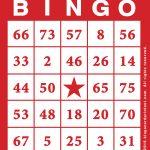 Printable Bingo Game   Bingocardprintout