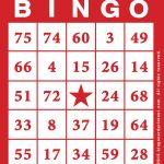 Printable Bingo Game Cards   Bingocardprintout