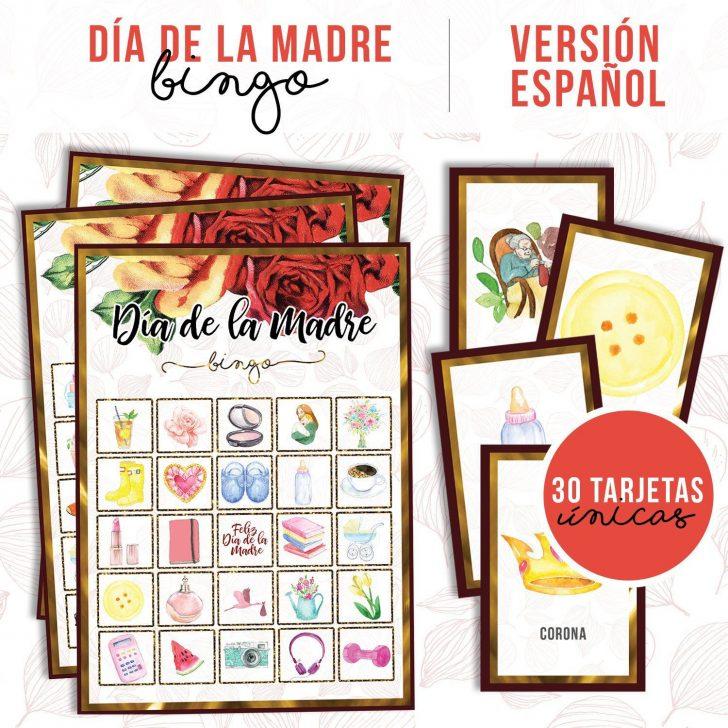 Printable Mothers Day Bingo Cards