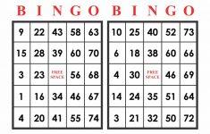 Printable Bingo Numbers 1-75 – Printabler