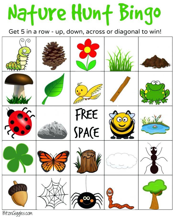 Free Printable Camping Bingo Cards