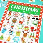 Printable Christmas Bingo Game   Happiness Is Homemade