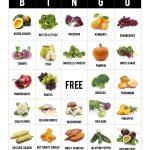 Printable] Fall Fruit + Veggie Bingo! – Handmade Healthy